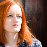 Christian counseling woman reflecting