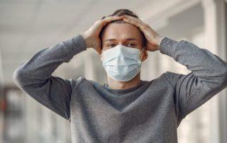 anxiety anger with covid coronavirus crisis